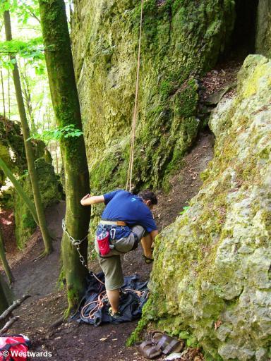 20070619 Plankenfels Klettern FRANKENSTUEBERL