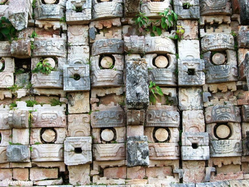 20071108 Kabah Templo de las Mascaras detail 0516