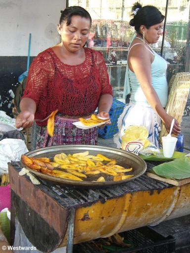20071211 Guatemala City food stall 2306