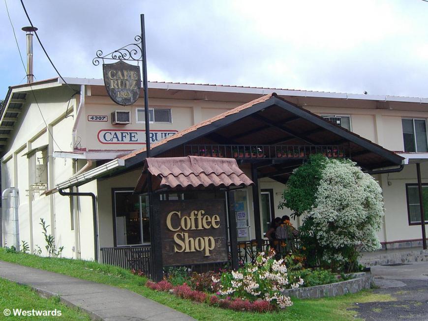 Cafe Ruiz in Boquete
