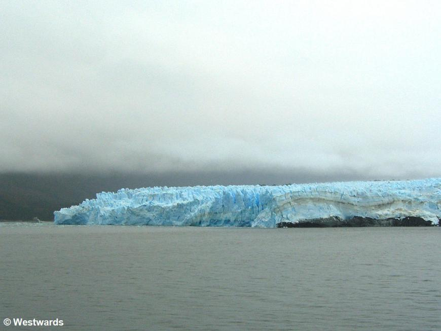 Glacier Pius XI seen from the Navimag ferry