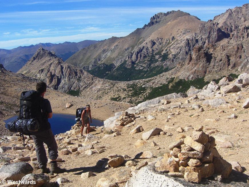 Laguna Schmoll hiking near Bariloche, Argentina