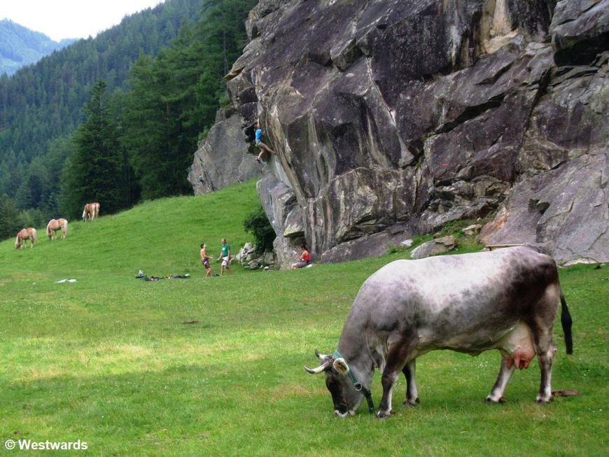 Climbing in Oetztal, Tyrol