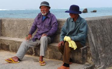 Old Okinawan people