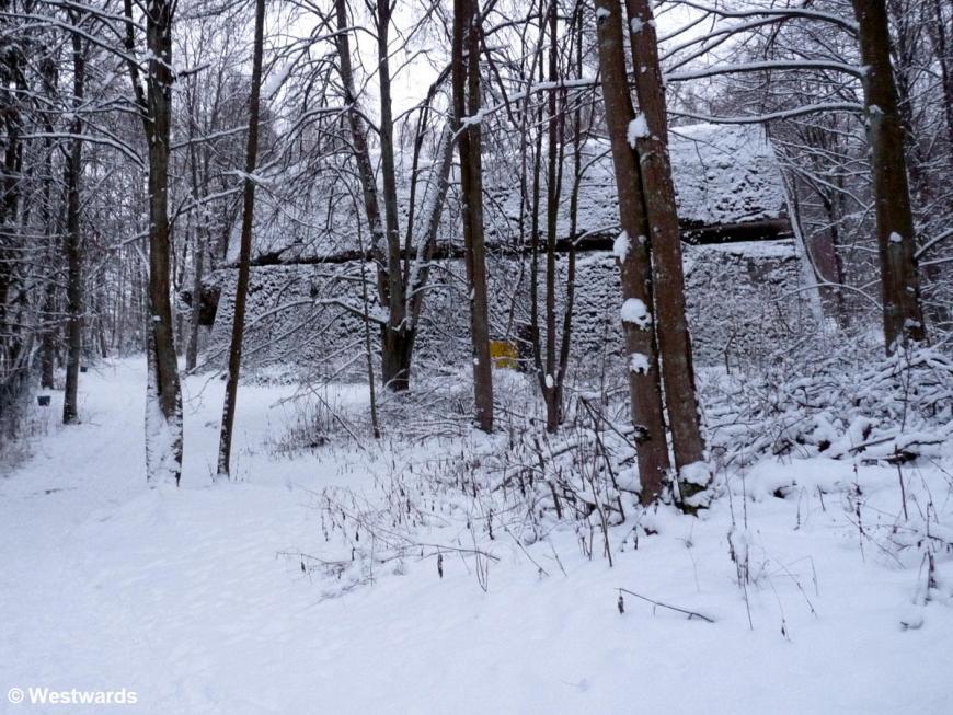 Bunker in Gierloz, Eastern Poland