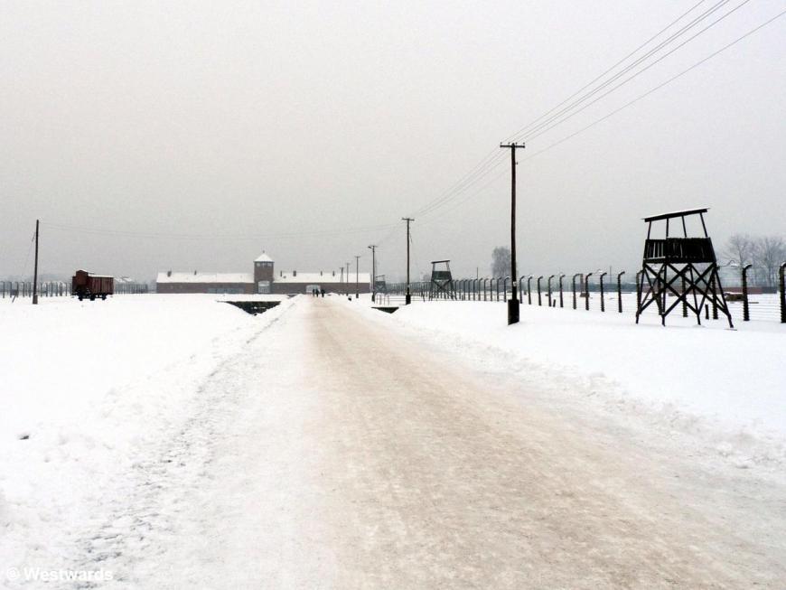 concentration camp of Auschwitz-Birkenau