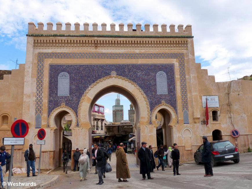 Bab Bou Jeloud in Fes
