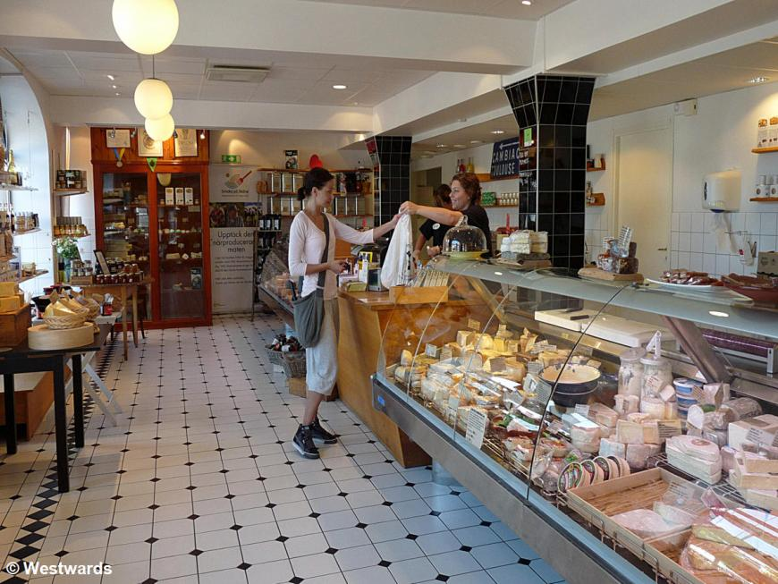 Cheese shop in Malmö