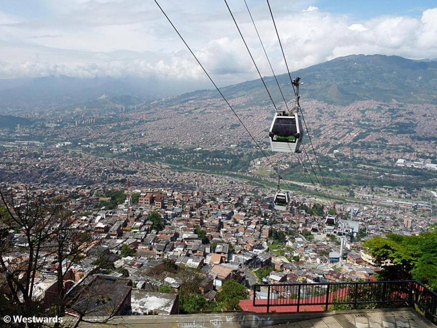20120119 Medellin view from Santo Domingo 1310131