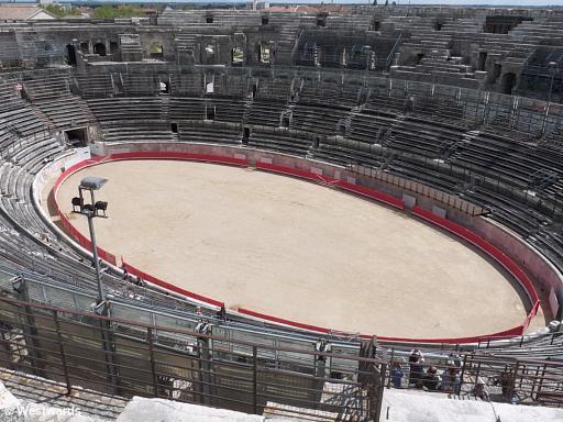 20120407 Nimes Amphitheater P1330516
