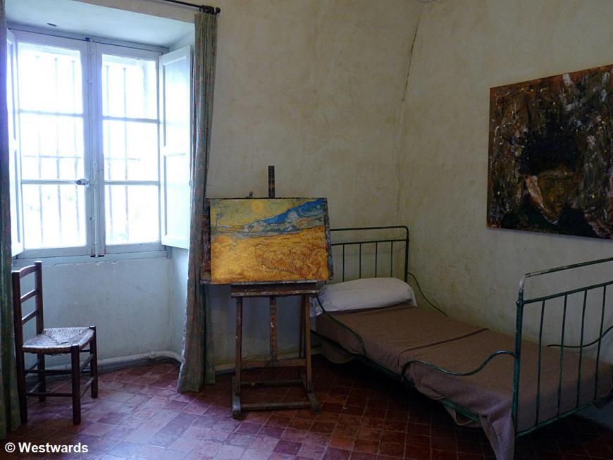 20120412 St Remy St Paul de Mausole van Gogh cell P1330847