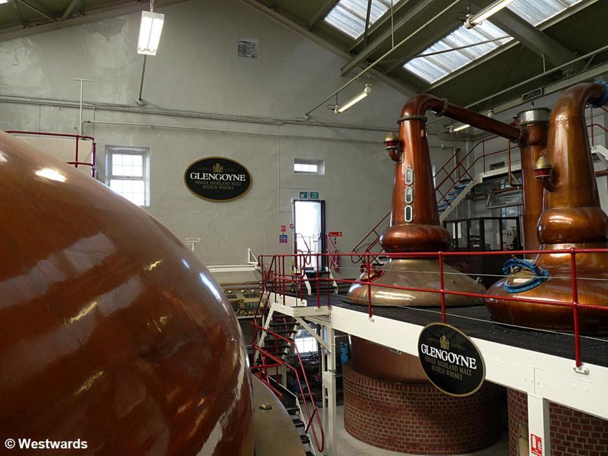 In der Whisky-Destille Glengoyne
