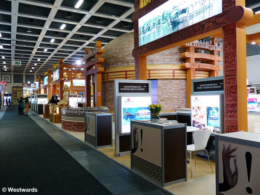 travel booths on ITB Berlin