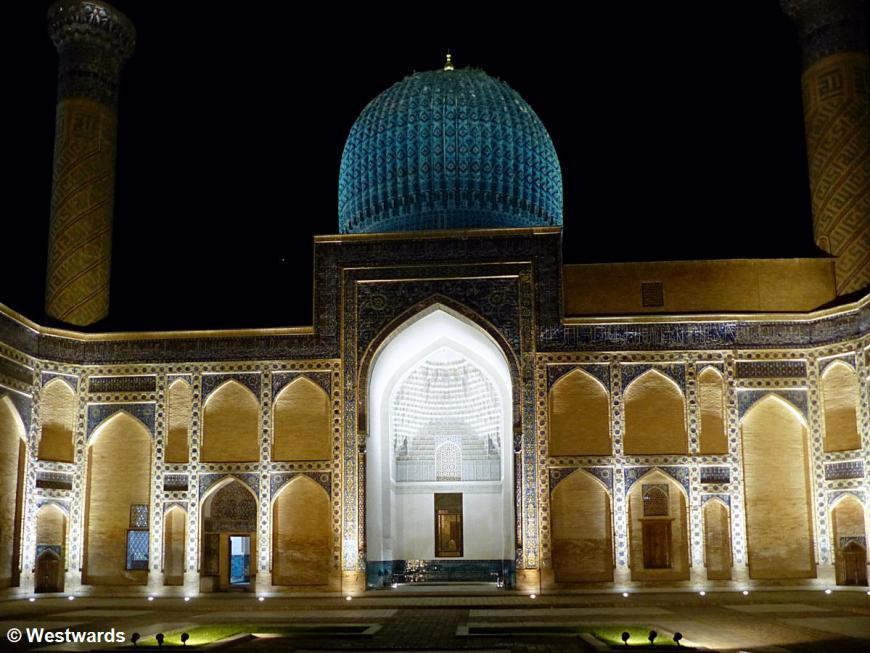 Tomb of Timur / Gur Emir in Samarkand