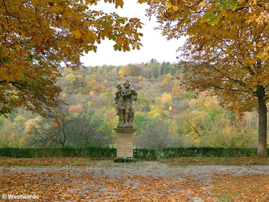 20201025 Weikersheim Schloss Barockgarten P1840235