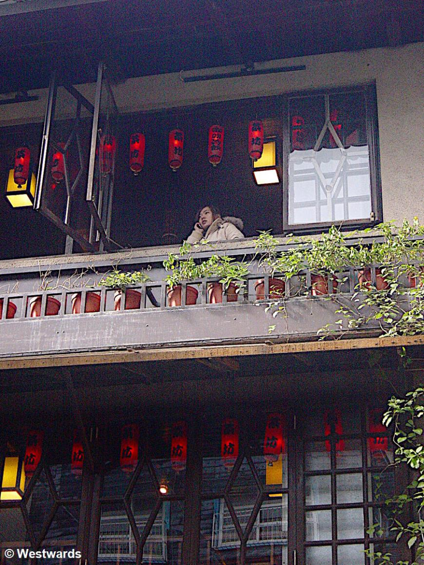 Taiwanese tea house in Jiufen