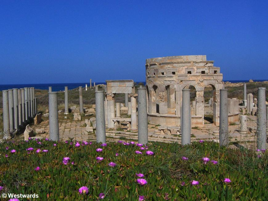 Marble market buildings of Leptis Magna