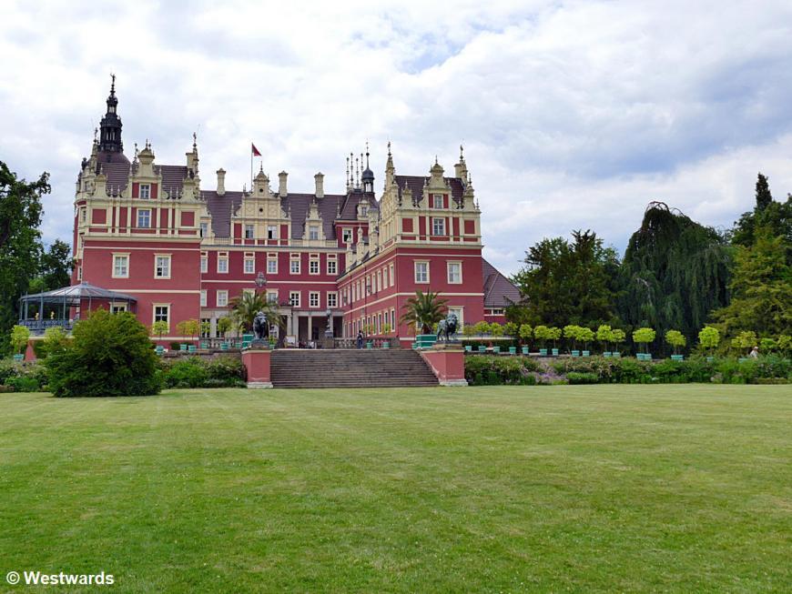 Prince Pückler's castle in Muskau Park