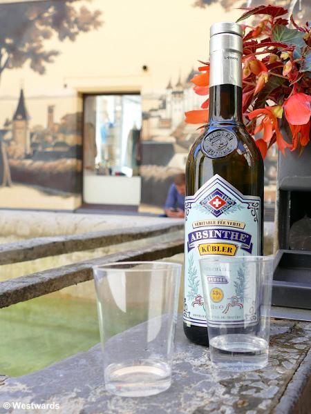 Absinth tasting in Neuchatel