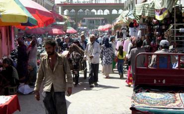 Hotan Sunday Market, 2006
