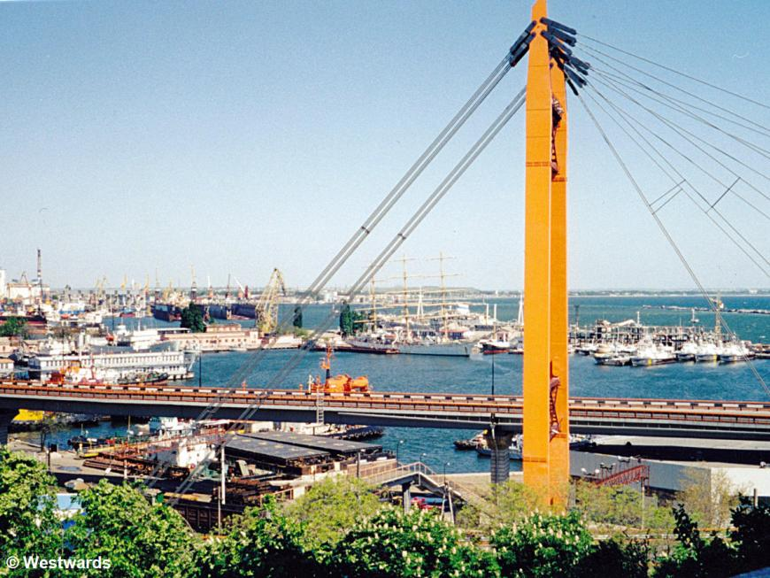 Odessa Harbour in 2001