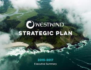 Westwind's 2015-2017 Strategic Plan