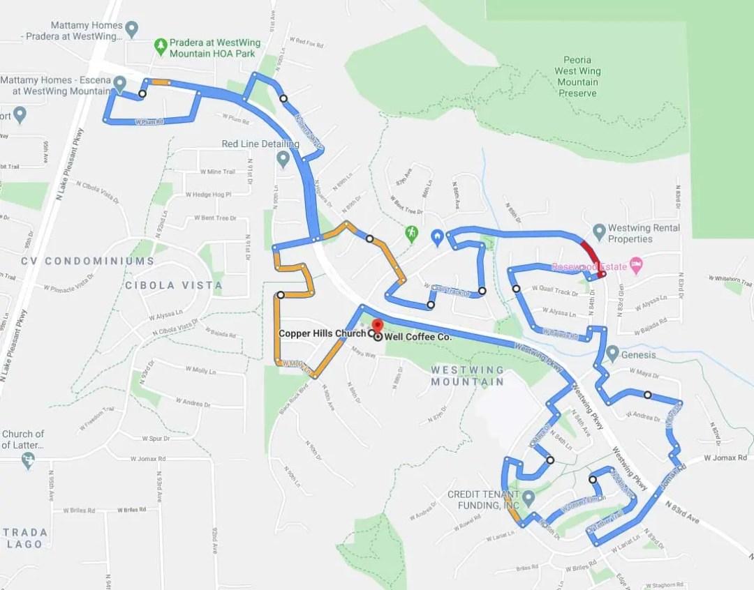 wwcpowertour map