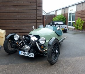 Morgan Cars, Malvern. A new 'oldie.'