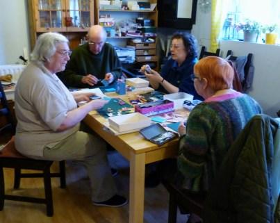 Paper Engineers in their workshop.