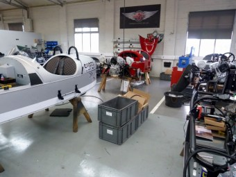 Morgan Cars, building the Three Wheelers.