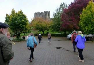 Chepstow Castle, invasion force.