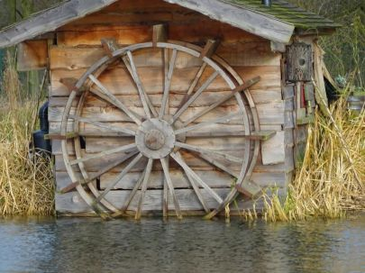 Wooden wheel - PH