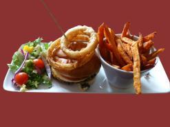 Hamburger and Sweet Potato Fries TF