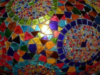 Mosaic - BW