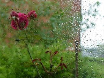 BW 02. Rainy day in Caistor.