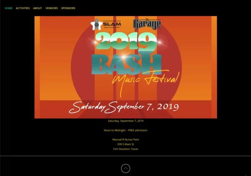 Bash Music Festival