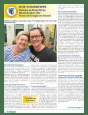 Monique de Bruin (56) en Marian Kruijver