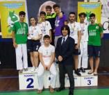 Podio Team Martial 2° Open Karate Calabria