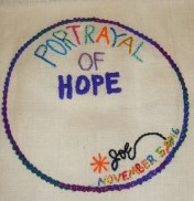 Portrayal of Hope Tapestry