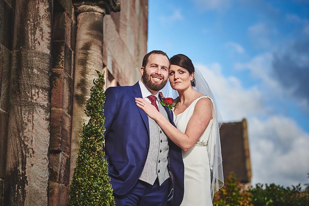 Bride & groom wedding portraits