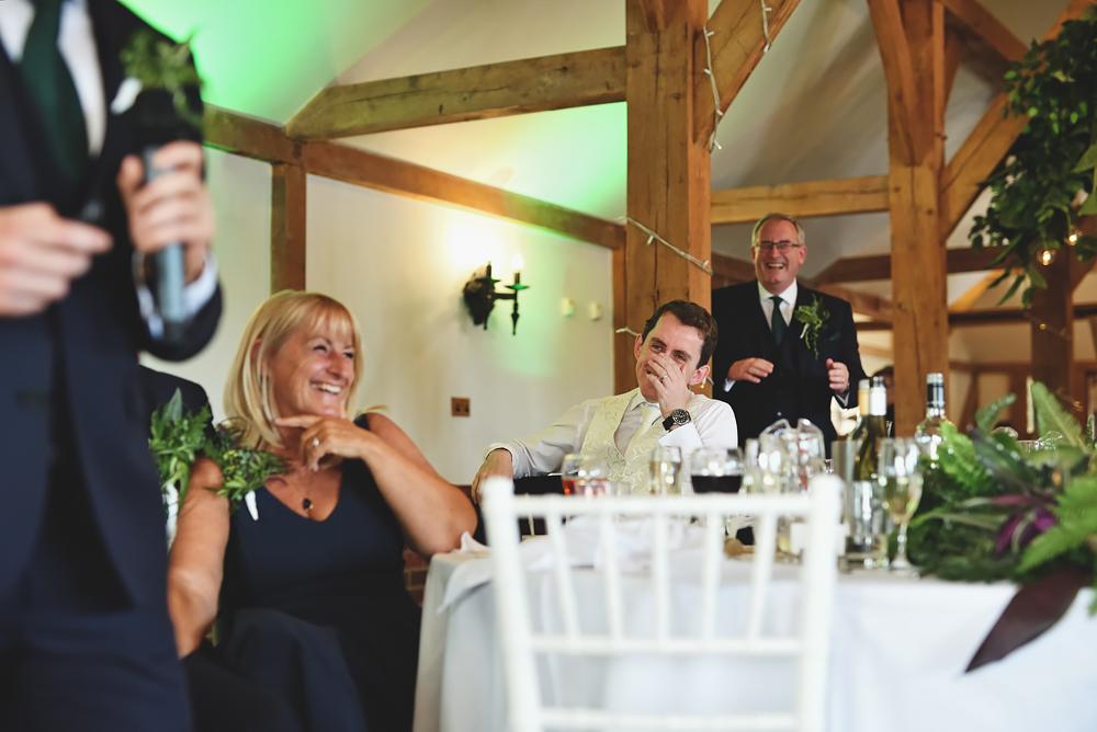 Bestman speech - Sandhole Oak Barn Wedding