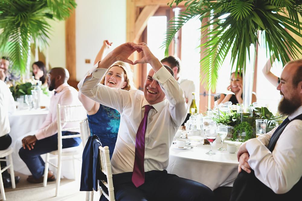 Love - Sandhole Oak Barn Wedding
