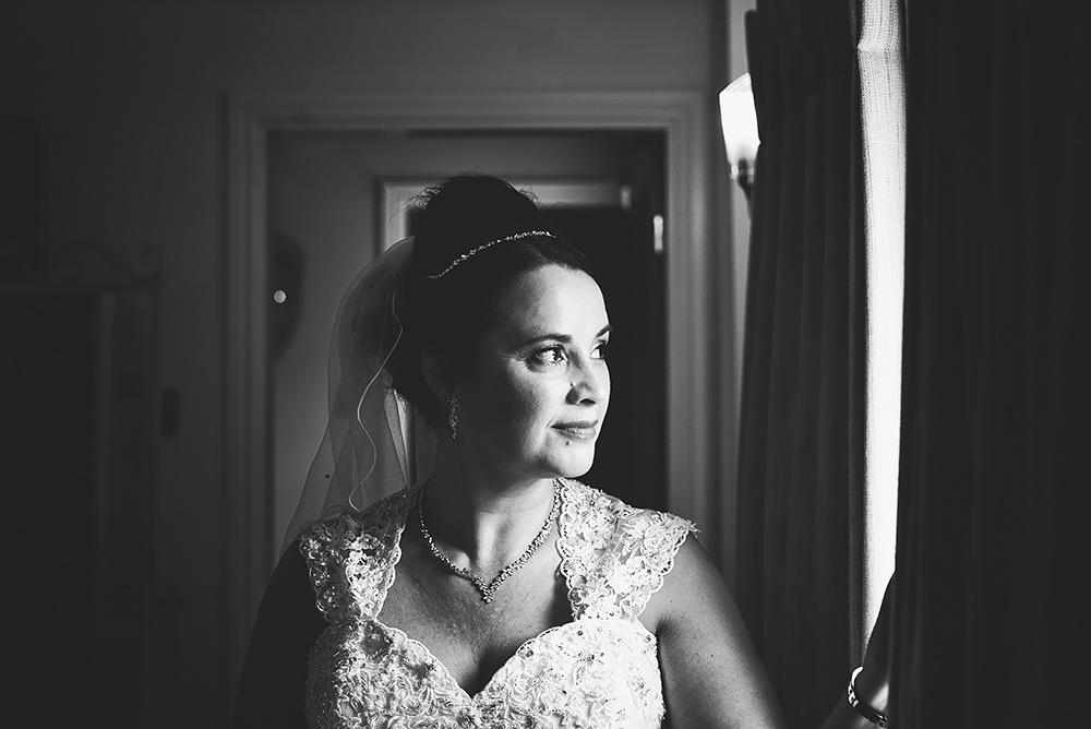 The Bride - Sandhole Oak Barn Wedding in Cheshire