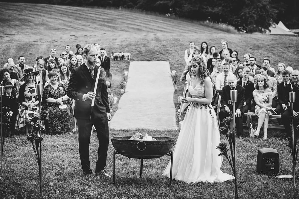 Whitebottom Farm wedding ceremony