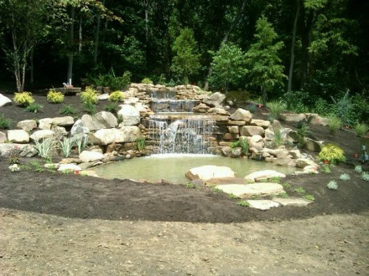 waterfall feature is complete