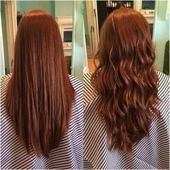 beach wave perm before and after photos and guide