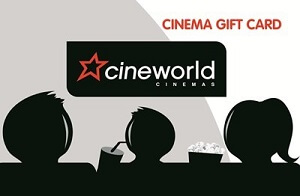 £25 free Cinema Gift Card