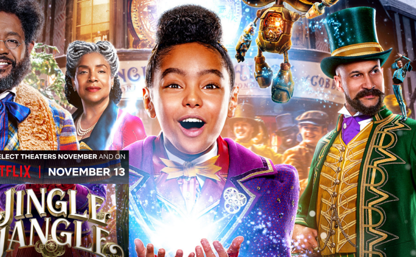 Jingle Jangle Trailer -Will this be your new favourite Christmas movie?