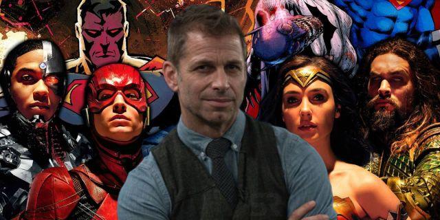 Zack Snyder Justice League Trilogy Snyder Cut SR