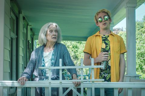 Cloris Leachman and Thomas Duplessie in Jump Darling
